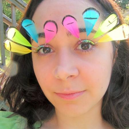 Почему бы не украсить ресницы?)) Идеи Natalie Russo — фото 5