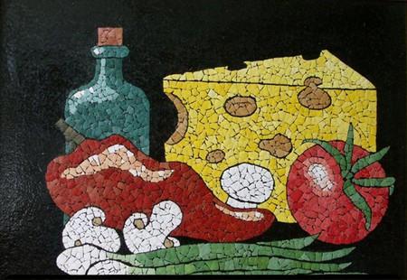 Мозаика из яичной скорлупы Любови Мешакиной — фото 22