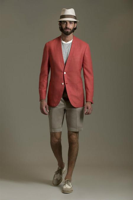 Немного цвета для мужчин – коллекция Brioni сезона весна-лето 2013 — фото 25
