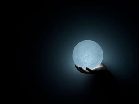 Свет, конечно, не очень яркий, но выглядит в темноте просто волшебно