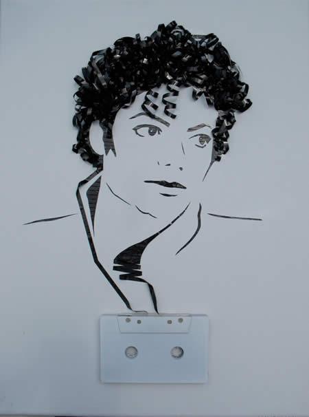 «Призрак в машине» - портреты из магнитофонной ленты — фото 1