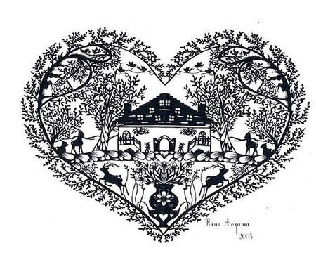 Кружева из бумаги – ювелирные работы Хины Аоямы — фото 20