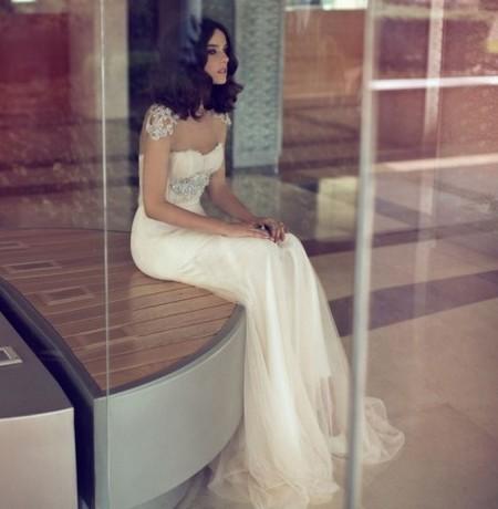 Свадебная коллекция Zahavit Tshuba – если хочется нежное и необычное платье — фото 20