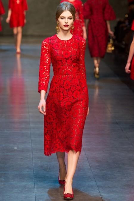 Dolce & Gabbana осень-зима 2013-2014 – когда всего слишком много — фото 64