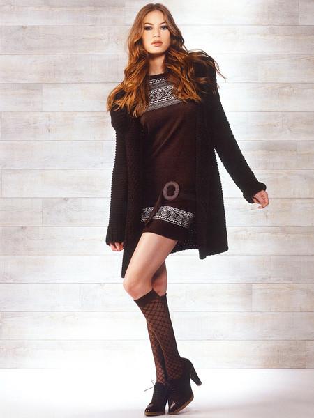 Платье Rinascimento – шик с нордическим орнаментом!
