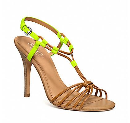 Коллекция обуви от Coach весна-лето 2013 – каблуки, платформа, мокасины, сандалии! — фото 20