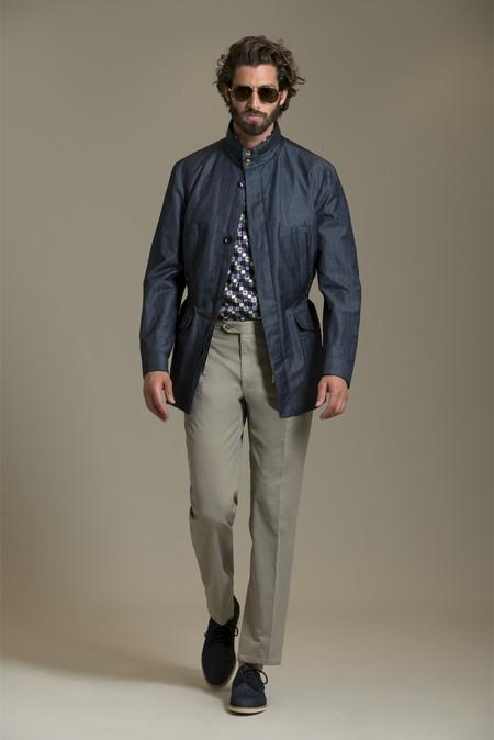 Немного цвета для мужчин – коллекция Brioni сезона весна-лето 2013 — фото 13