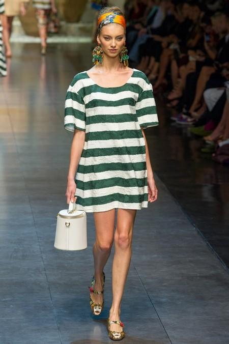 Сицилия от Dolce & Gabbana - женская коллекция весна-лето 2013 — фото 84