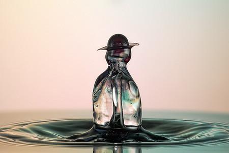 Скульптуры из … воды. Макрофотографии разноцветных капель — фото 31