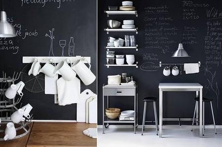 Школьная доска – часть интерьера кухни, детской, спальни и т.д. — фото 4