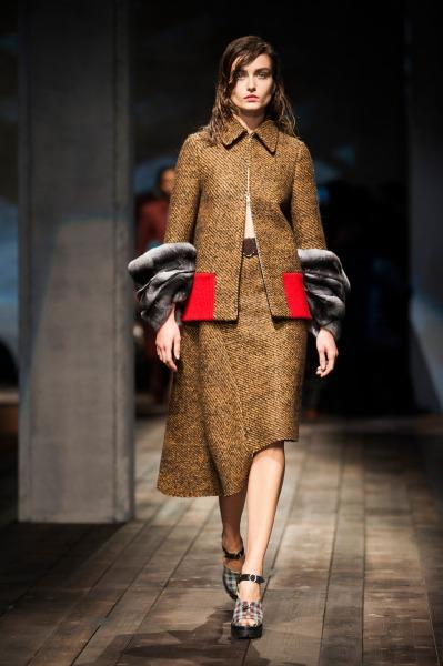 Осень-зима 2013-2014 с Prada – будет ретро и тепло — фото 14