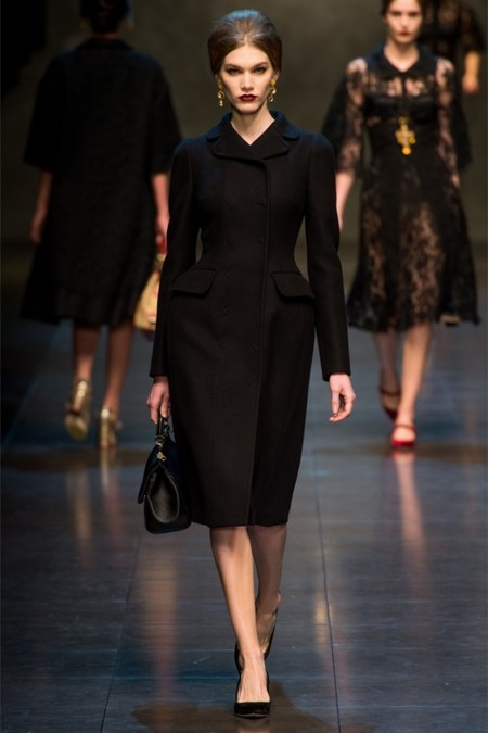 Dolce & Gabbana осень-зима 2013-2014 – когда всего слишком много — фото 48