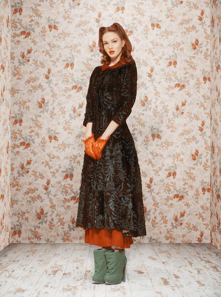 Ретро-осень – коллекция Ульяны Сергеенко — фото 15