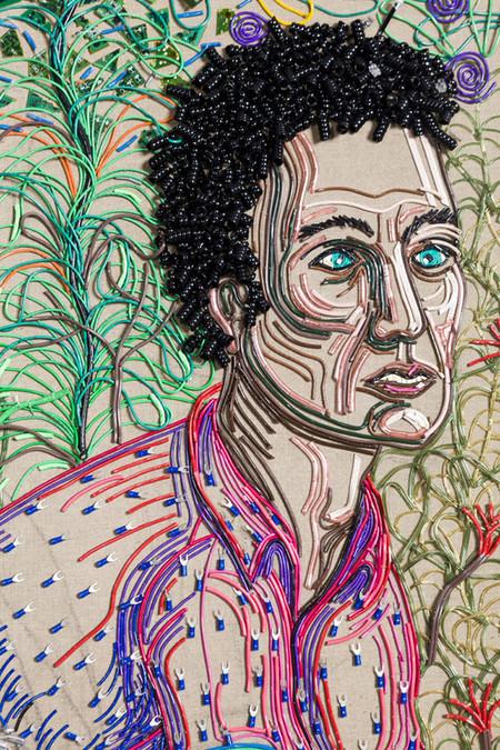 Яркие картины из кабелей от Федерико Урибе — фото 23