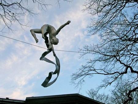 Скульптуры в воздухе от Jerzy Kedziora — фото 25