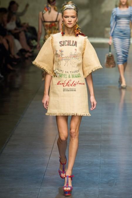 Сицилия от Dolce & Gabbana - женская коллекция весна-лето 2013 — фото 17