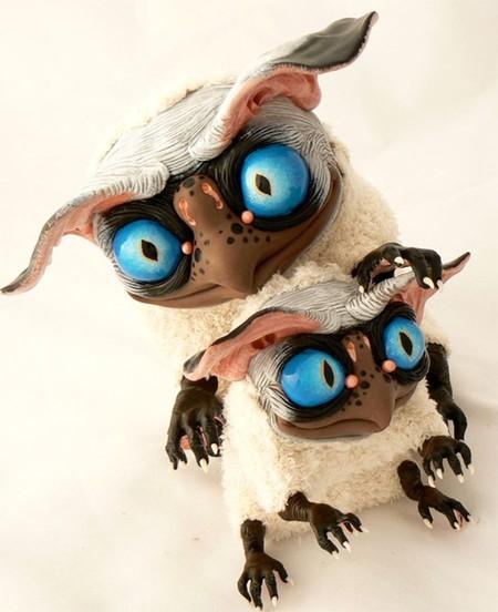 Милые монстры – игрушки Марии Santani — фото 18