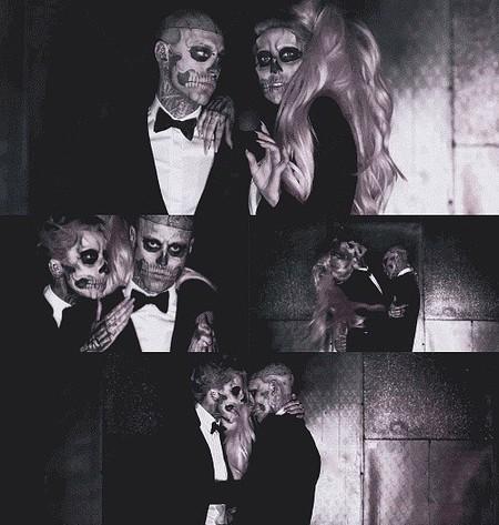 """Кадры из клипа Леди Гаги """"Born This Way"""""""