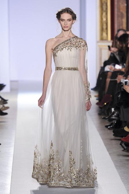 Весенняя коллекция 2013 роскошных платьев Zuhair Murad — фото 20