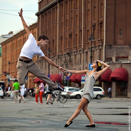 Александр Зевелев и Ксения Запутряева, спортивные бальные танцы, Исаакиевская площадь