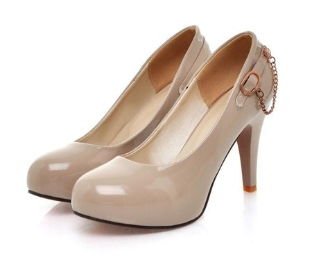 Туфли цвета «нюд» - новая классика! С чем носить, как комбинировать — фото 86