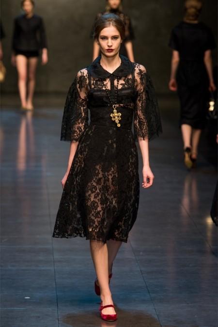 Dolce & Gabbana осень-зима 2013-2014 – когда всего слишком много — фото 49