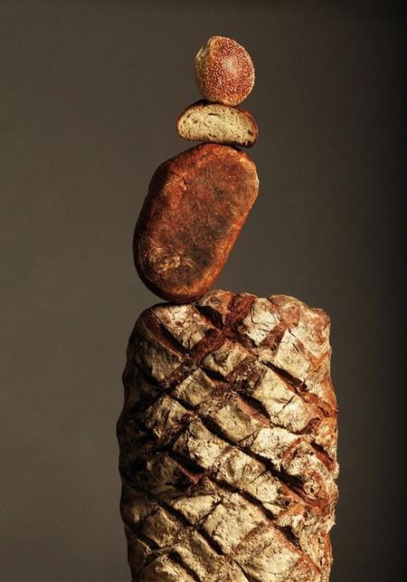 Парящий хлеб в сбалансированных «скульптурах» — фото 8
