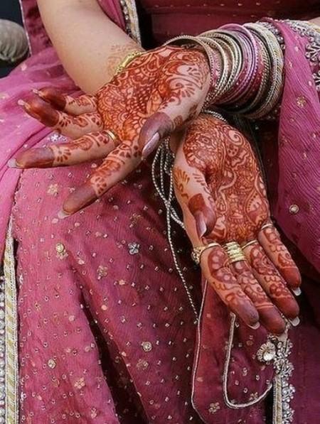 Менди – украшение не только для индийских принцесс — фото 13