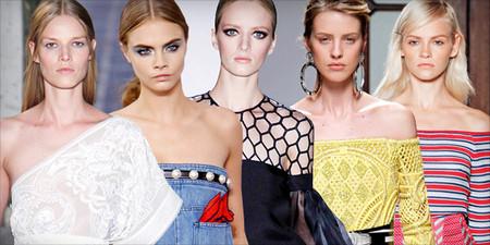 Открытые плечи – модная волна весны 2013 — фото 49