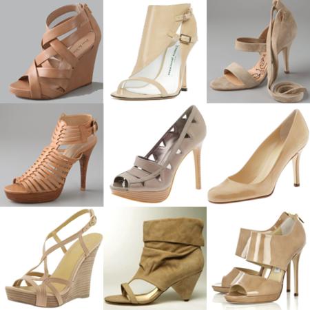 Туфли цвета «нюд» - новая классика! С чем носить, как комбинировать — фото 93
