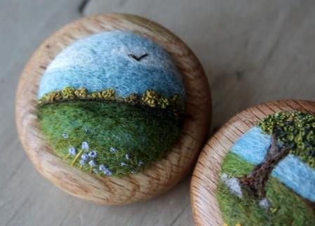 Маленькие войлочные штучки от Лизы Джордан — фото 3