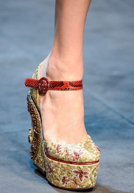 Dolce & Gabbana осень-зима 2013-2014 – когда всего слишком много — фото 97