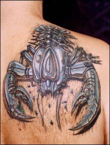 Татуировки в формате 3D – искусство или …? — фото 8