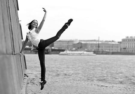 Альфия Тенешева — балет у Петропавловской крепости