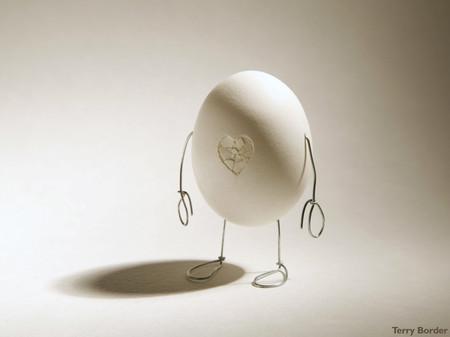 Одинокое яйцо с разбитым сердцем