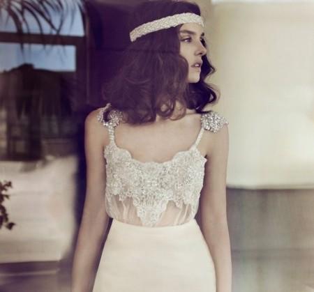 Свадебная коллекция Zahavit Tshuba – если хочется нежное и необычное платье — фото 19