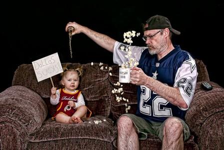 Папа и дочь – истории в картинках. Фото Дэйва Энглдау — фото 17