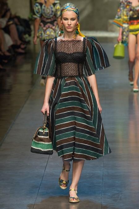 Сицилия от Dolce & Gabbana - женская коллекция весна-лето 2013 — фото 81