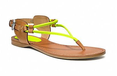 Коллекция обуви от Coach весна-лето 2013 – каблуки, платформа, мокасины, сандалии! — фото 33