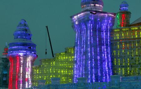 Фестиваль Ледяных дворцов в китайском Харбине – зимняя сказка — фото 15