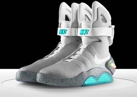 Кроссовки из будущего - 2011 NIKE MAG — фото 7
