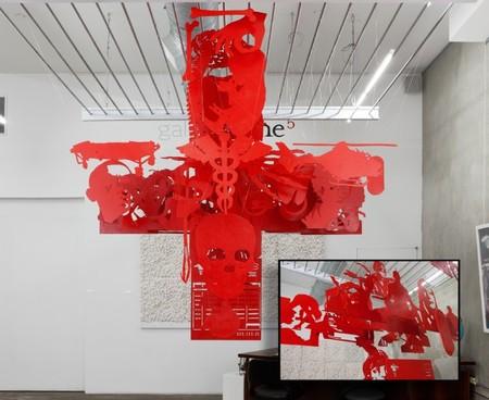 Три измерения из двух – инсталляции Майкла Мерфи — фото 14