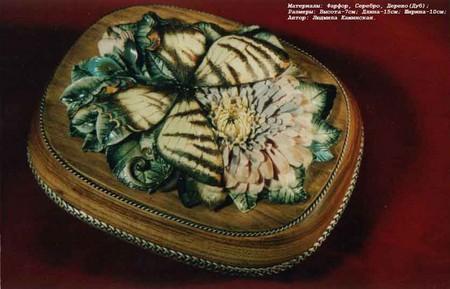 Фарфоровая красота – работы студии Людмилы Каминской — фото 17