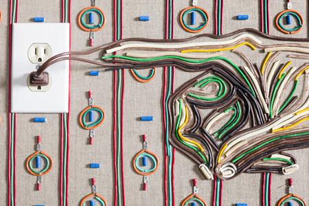 Яркие картины из кабелей от Федерико Урибе — фото 22