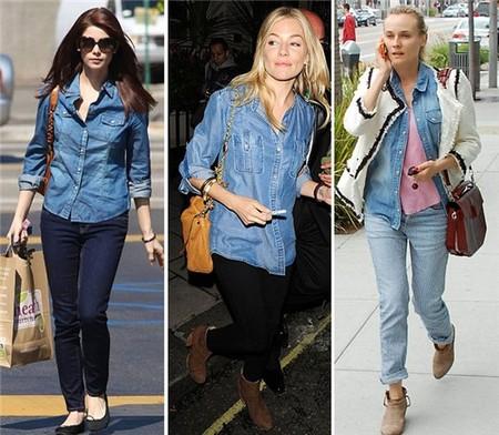 Ода джинсовой рубашке – сочиняем образы — фото 78