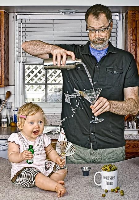 Папа и дочь – истории в картинках. Фото Дэйва Энглдау — фото 18
