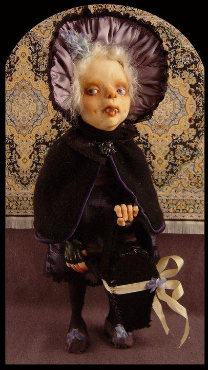 Зомби, монстры, вампиры и прочие куклы Камиллы Млынарчик — фото 12
