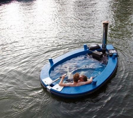 Лодки Hot Tub Boat – с теплым бассейном-джакузи и музыкой — фото 7