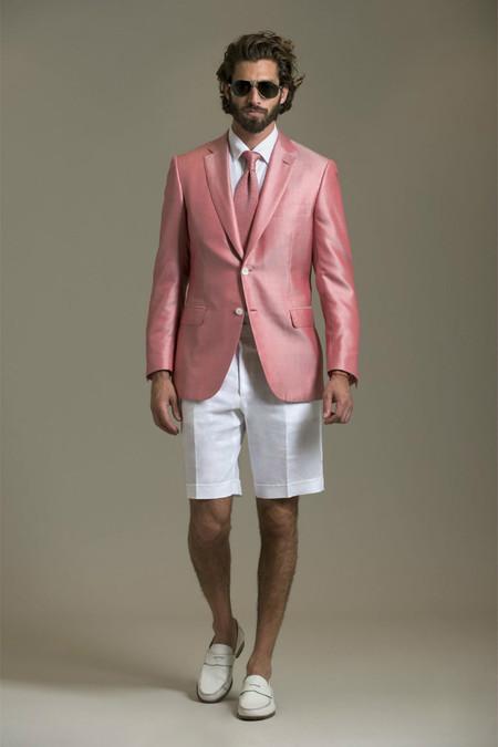 Немного цвета для мужчин – коллекция Brioni сезона весна-лето 2013 — фото 24
