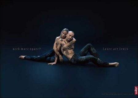 Татуировка в рекламе – тело как рекламная площадь — фото 11